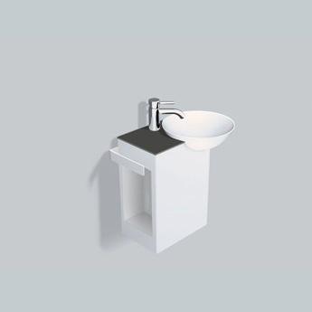alape wp insert1 waschplatz anthrazitbraun. Black Bedroom Furniture Sets. Home Design Ideas