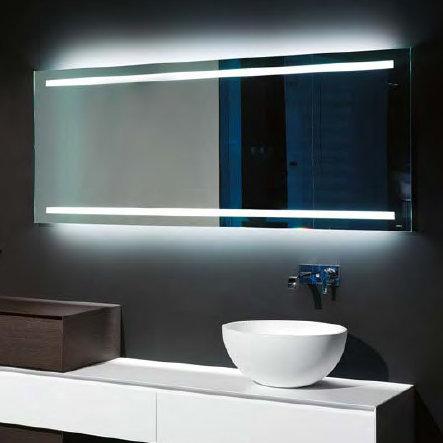 antoniolupi spio175w rechteckiger spiegel mit led beleuchtung h he 75 cm spio175w180 reuter. Black Bedroom Furniture Sets. Home Design Ideas