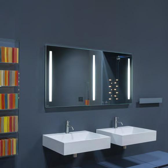 antoniolupi spio250 spiegel mit polierter kante und wei er. Black Bedroom Furniture Sets. Home Design Ideas