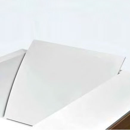 antoniolupi spline r ckenlehne f r badewanne biblio 625 mm. Black Bedroom Furniture Sets. Home Design Ideas