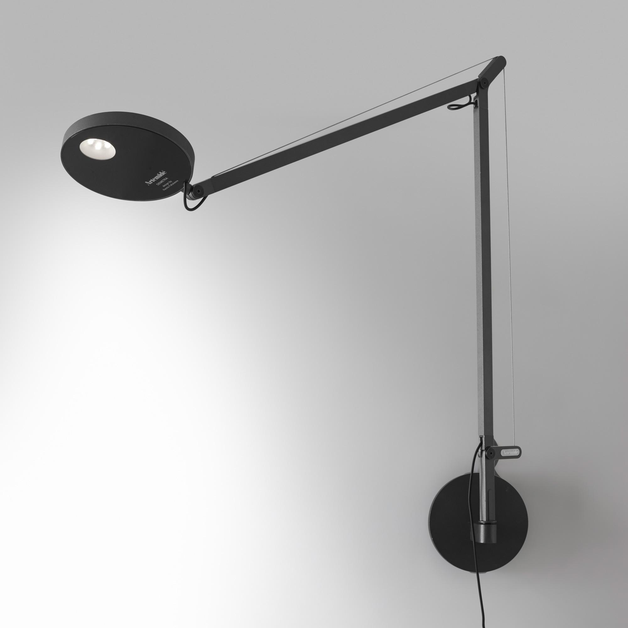 artemide demetra parete led wandleuchte mit. Black Bedroom Furniture Sets. Home Design Ideas