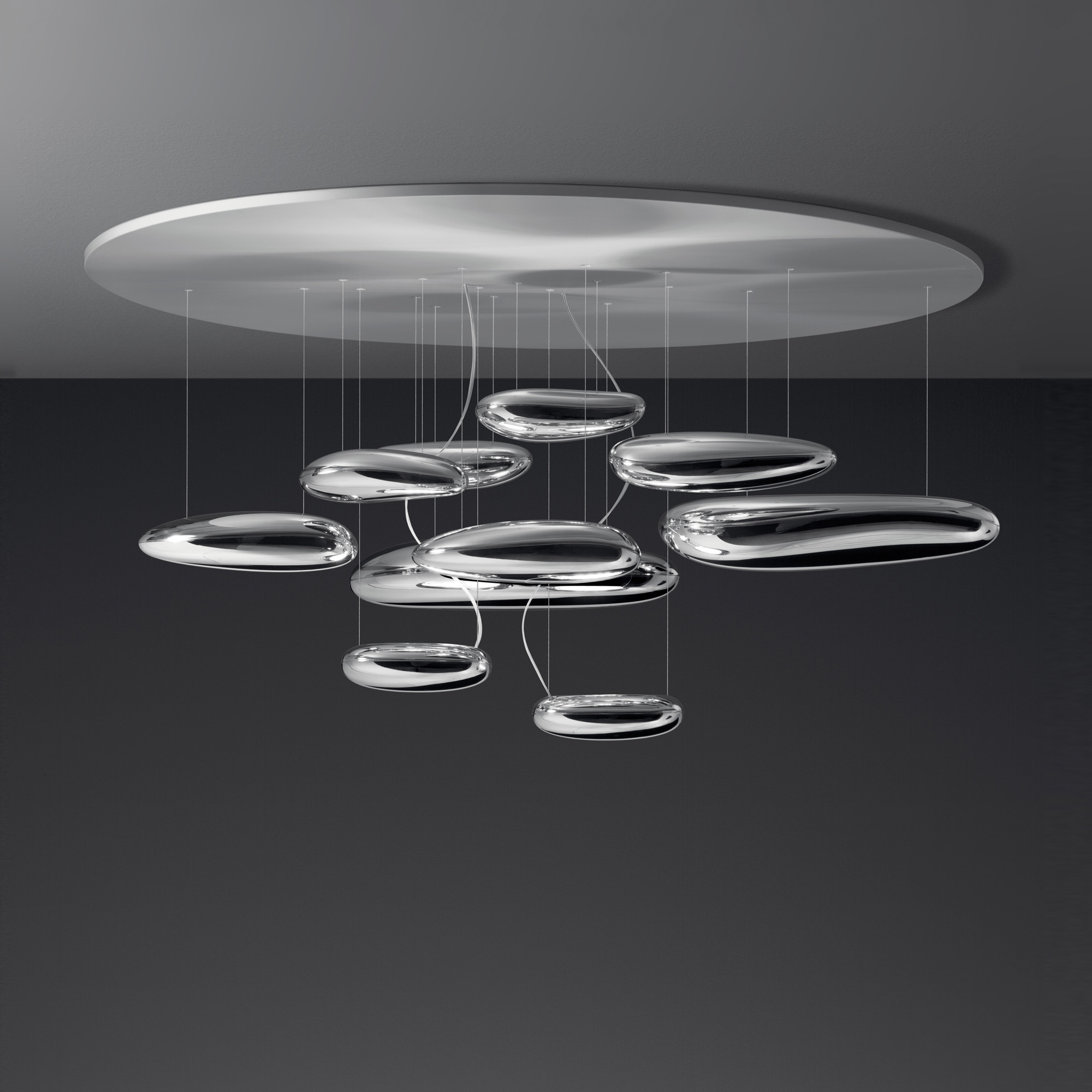 artemide mercury soffitto inox deckenleuchte 1396110a reuter onlineshop. Black Bedroom Furniture Sets. Home Design Ideas