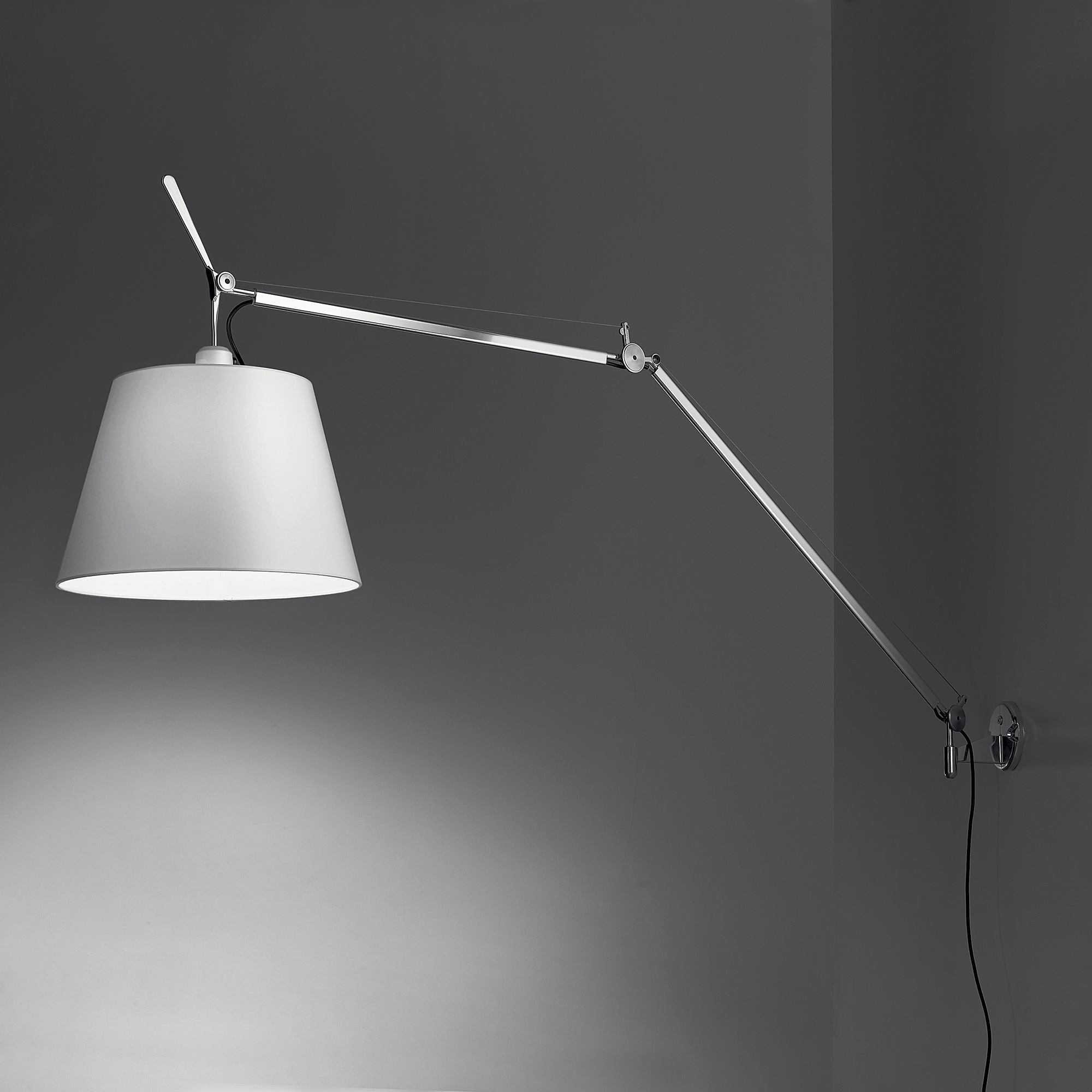 artemide tolomeo mega wandleuchte mit dimmer 0778010a 0563050a 0781030a reuter onlineshop. Black Bedroom Furniture Sets. Home Design Ideas