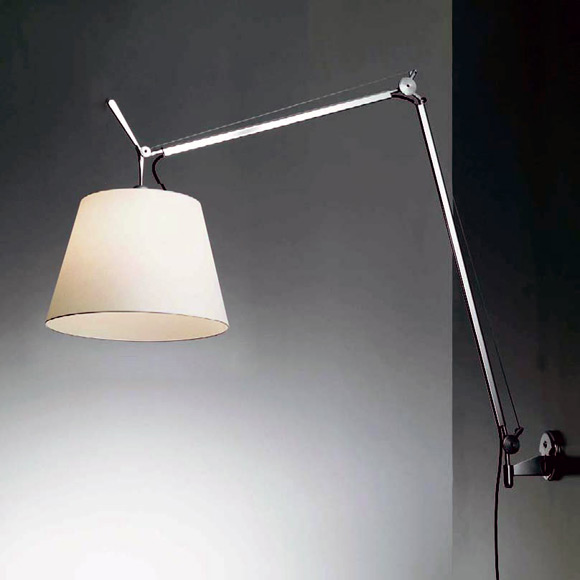 artemide tolomeo mega wandleuchte mit dimmer 0778010a 0563050a 0780020a reuter onlineshop. Black Bedroom Furniture Sets. Home Design Ideas