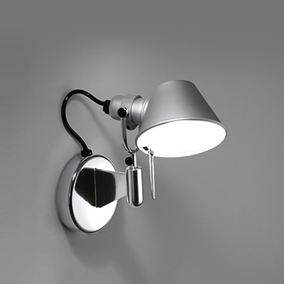 artemide tolomeo micro faretto wandleuchte a010750. Black Bedroom Furniture Sets. Home Design Ideas