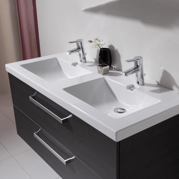 keramik doppelwaschtisch preisvergleiche. Black Bedroom Furniture Sets. Home Design Ideas