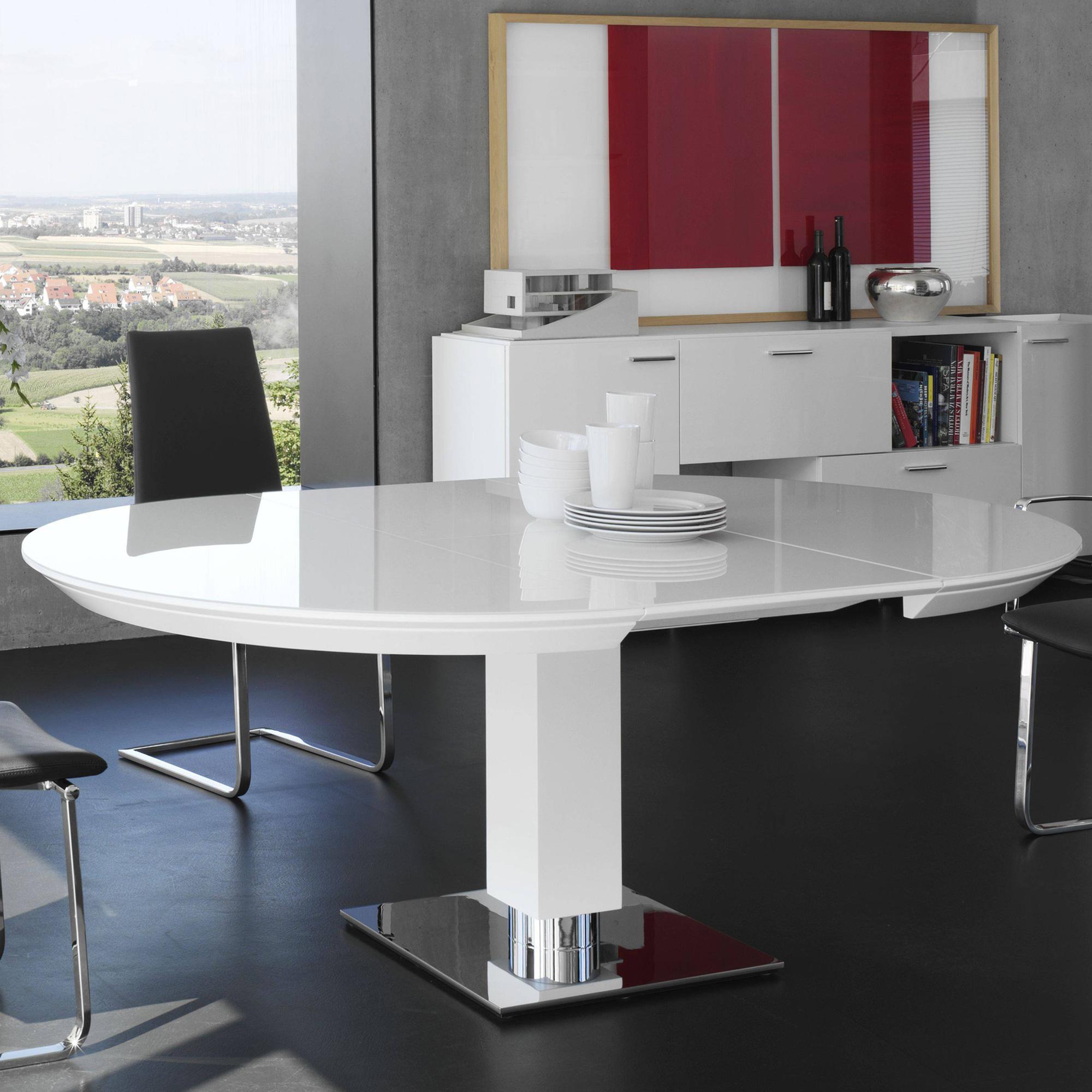tisch wei rund great tisch wei rund schn tisch modell. Black Bedroom Furniture Sets. Home Design Ideas