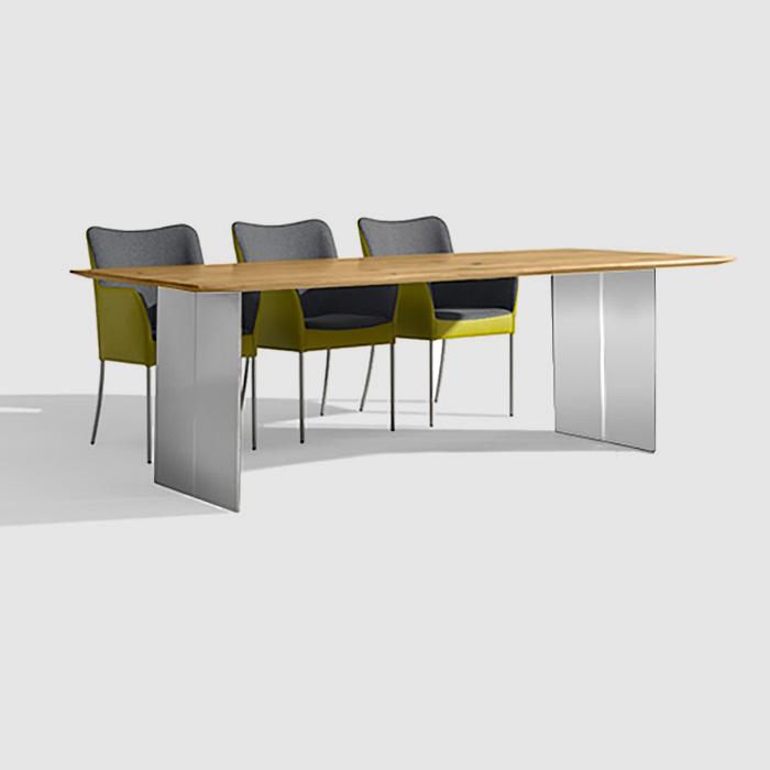 bert plantagie cheek tisch cheektisch 160x100 eiche astig reuter onlineshop. Black Bedroom Furniture Sets. Home Design Ideas