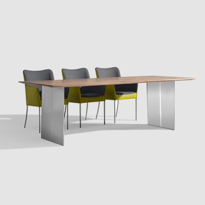 bert plantagie cheek tisch cheektisch 180x100 nussb astig reuter onlineshop. Black Bedroom Furniture Sets. Home Design Ideas