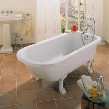 Bette freistehende badewanne