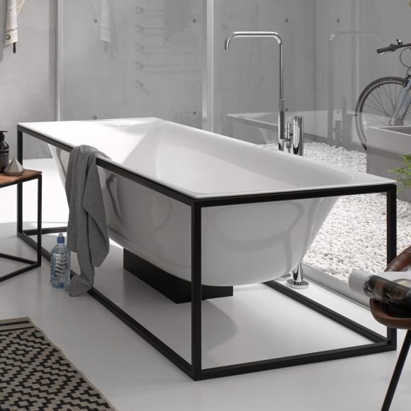 Bette Lux Shape Sonderform Badewanne inkl. Rahmengestell L:170 B:75cm weiß 3451-000+Q001-815 ALT