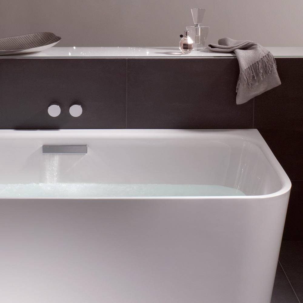bette art iv badewanne mit ab und berlaufgarnitur mit wanneneinlauf chrom 3480 000cerhk b615. Black Bedroom Furniture Sets. Home Design Ideas