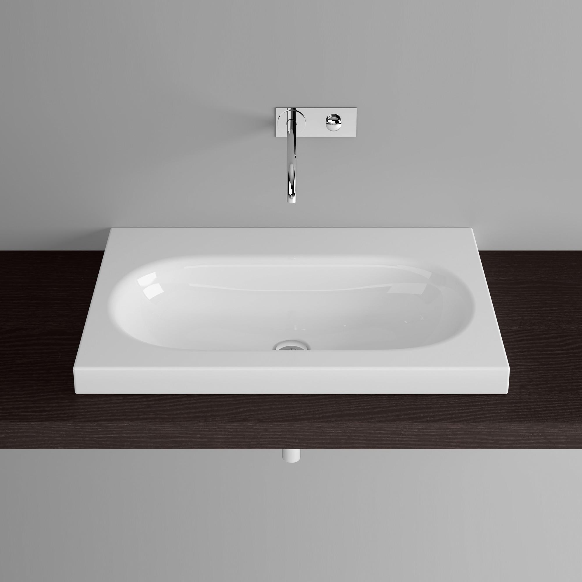 bette comodo aufsatz waschtisch wei betteglasur a206 000pw reuter onlineshop. Black Bedroom Furniture Sets. Home Design Ideas