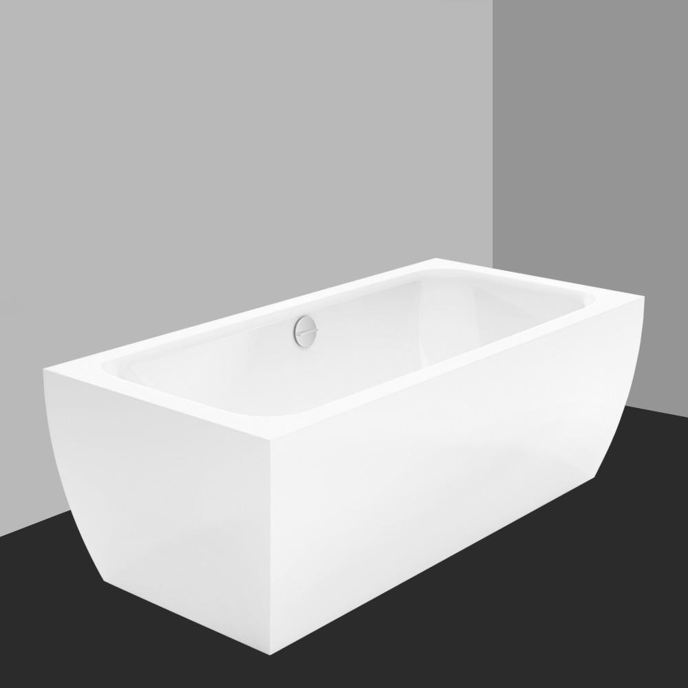 bette cubo silhouette freistehende badewanne wei mit multiplex m5 in chrom 8421 000cfxxk1gr. Black Bedroom Furniture Sets. Home Design Ideas