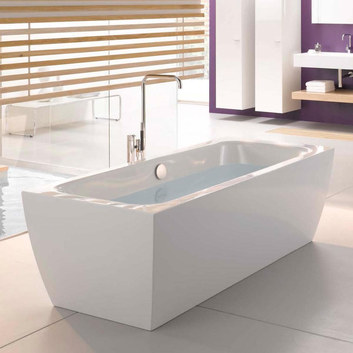 bette cubo silhouette freistehende badewanne wei mit multiplex m5 in chrom 8431 000cfxxk b601. Black Bedroom Furniture Sets. Home Design Ideas