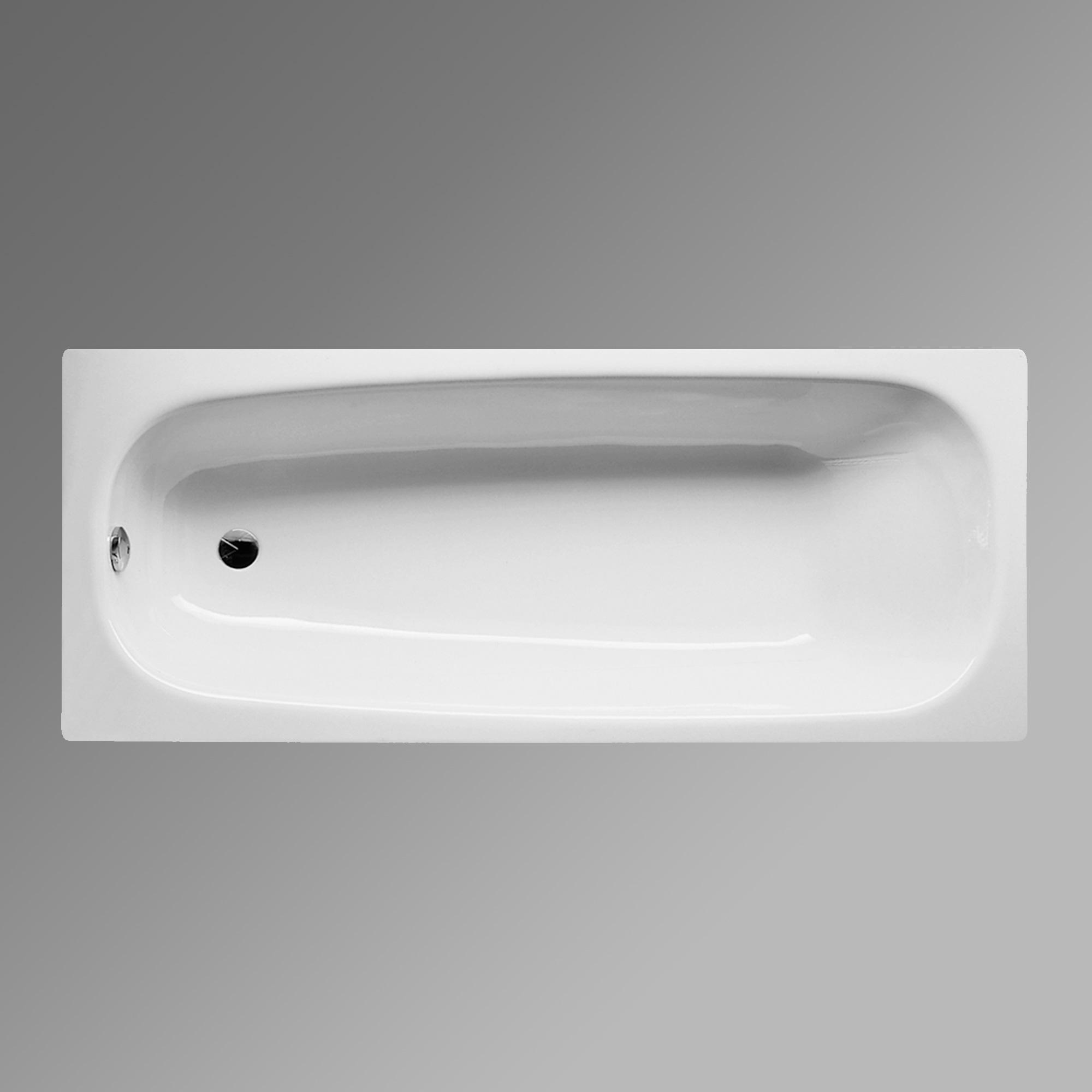 Bette Form Rechteck Badewanne weiss BetteGlasur - 3400-000PLUS ...