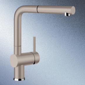blanco linus s einhebelmischer ausladung 219 mm auslauf ausziehbar tartufo 517621 reuter. Black Bedroom Furniture Sets. Home Design Ideas