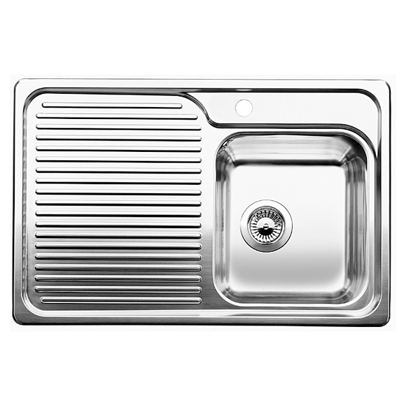 blanco classisc 40 s sink w 78 d 51 cm 511124 reuter onlineshop. Black Bedroom Furniture Sets. Home Design Ideas