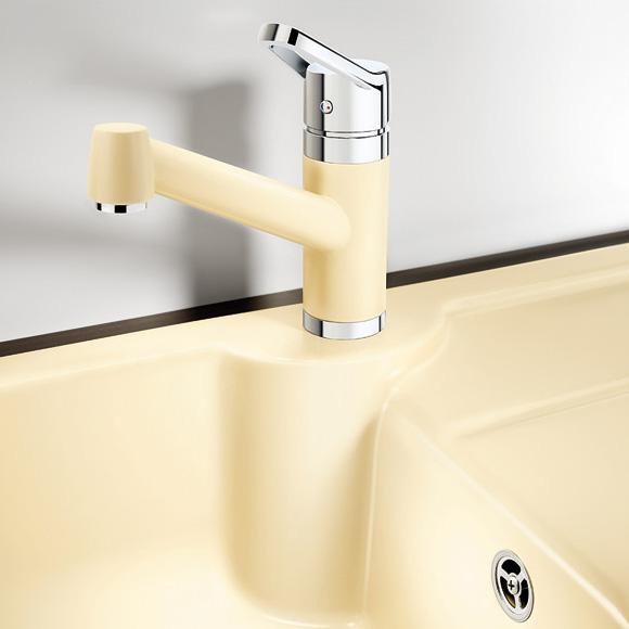blanco idessa 45 s sp le b 78 t 50 cm becken keramik wei 514487 reuter onlineshop. Black Bedroom Furniture Sets. Home Design Ideas