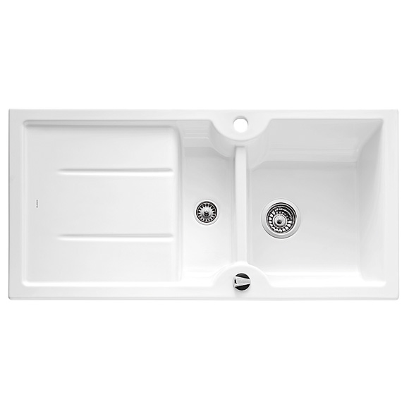 blanco idessa 6 s drehbare sp le b 100 t 50 cm becken keramik kristallwei 516000 reuter. Black Bedroom Furniture Sets. Home Design Ideas