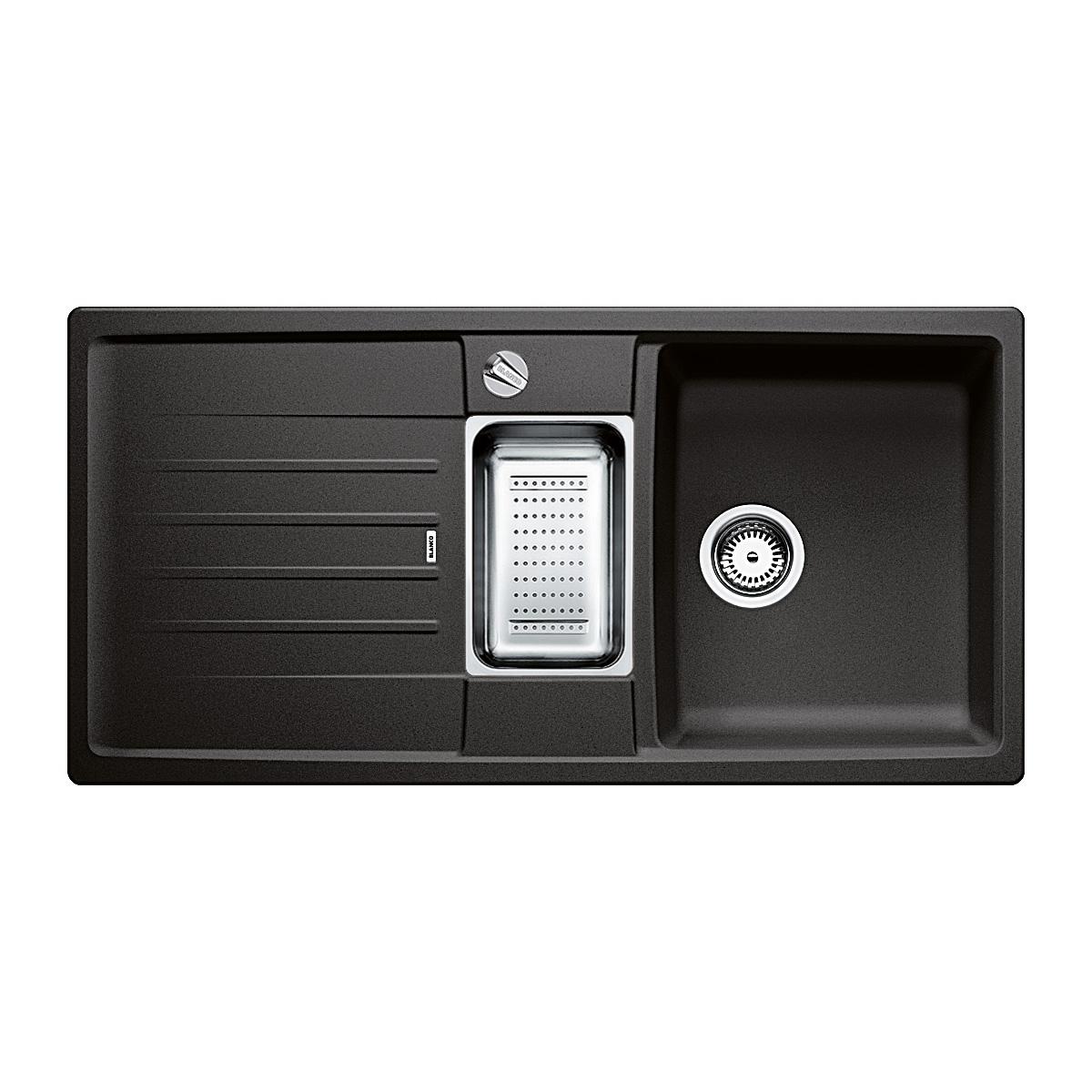 blanco lexa 6 s sp le b 100 t 50 cm becken silgranit puradur ii anthrazit 514676 reuter. Black Bedroom Furniture Sets. Home Design Ideas
