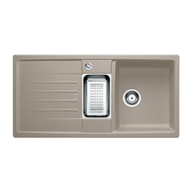 blanco lexa 6 s sp le b 100 t 50 cm becken silgranit puradur ii tartufo 517337 reuter. Black Bedroom Furniture Sets. Home Design Ideas