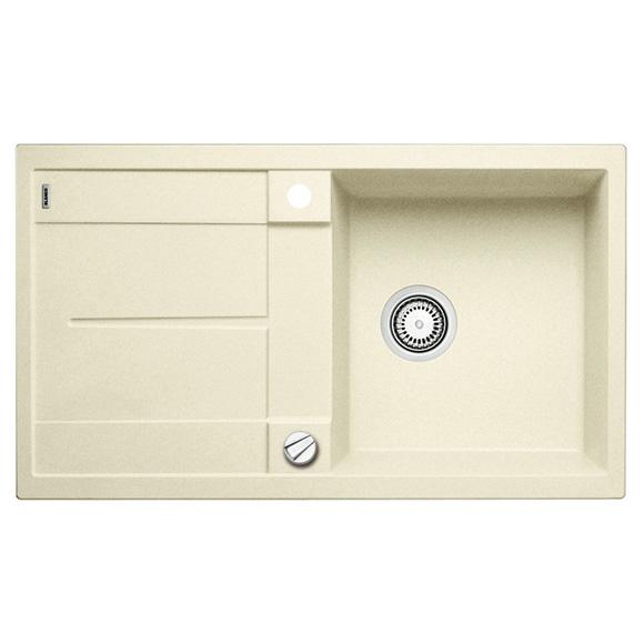 blanco metra 5 s sp le b 86 t 50 cm becken silgranit puradur ii jasmin 513038 reuter. Black Bedroom Furniture Sets. Home Design Ideas