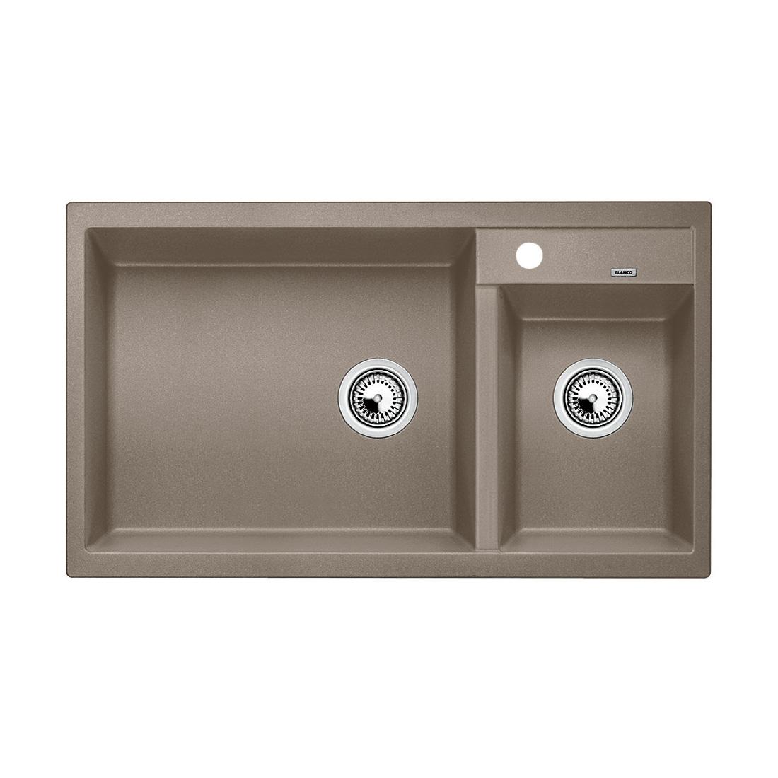 blanco metra 9 sp le b 86 t 50 cm becken silgranit puradur ii tartufo 517364 reuter. Black Bedroom Furniture Sets. Home Design Ideas