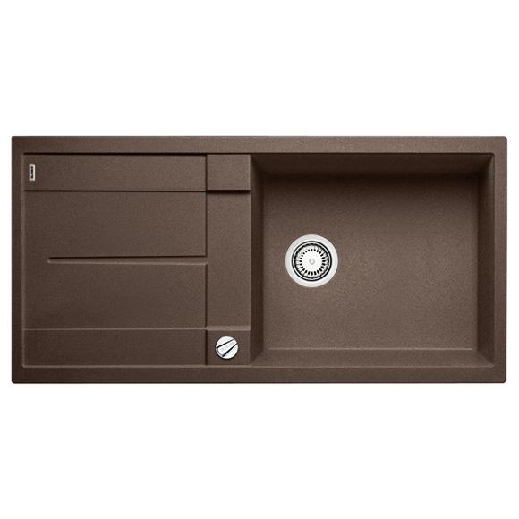 blanco metra xl 6 s sp le b 100 t 50 cm becken silgranit puradur ii cafe 515287 reuter. Black Bedroom Furniture Sets. Home Design Ideas