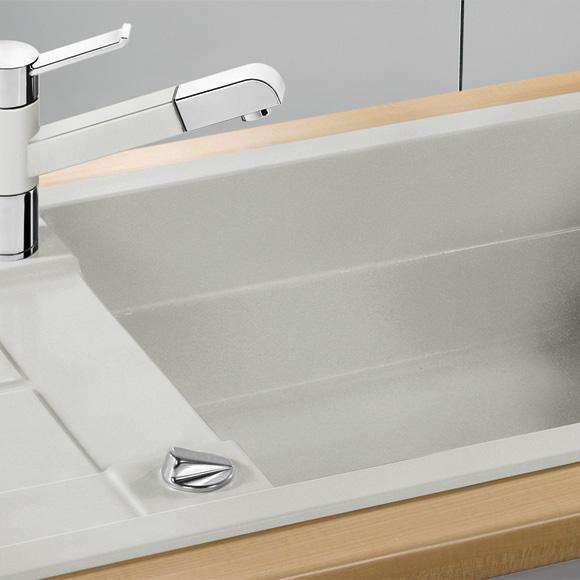 blanco metra xl 6 s sp le b 100 t 50 cm becken silgranit puradur ii tartufo 517360 reuter. Black Bedroom Furniture Sets. Home Design Ideas