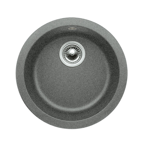 blanco rondo sp le 45 cm becken silgranit puradur ii alumetallic 511704 reuter onlineshop. Black Bedroom Furniture Sets. Home Design Ideas