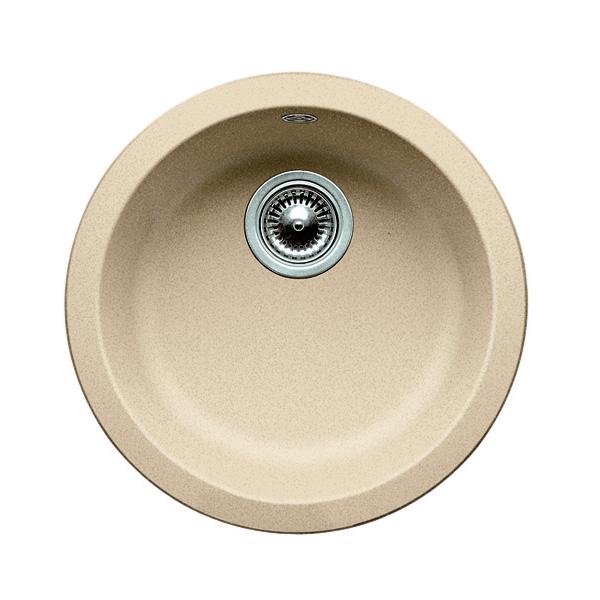 blanco rondo sp le 45 cm becken silgranit puradur ii champagner 513922 reuter onlineshop. Black Bedroom Furniture Sets. Home Design Ideas