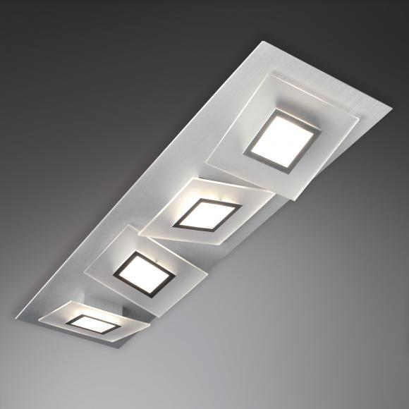 bopp frame led deckenleuchte 4 flg 36180409 preisvergleich leuchte g nstig kaufen bei. Black Bedroom Furniture Sets. Home Design Ideas