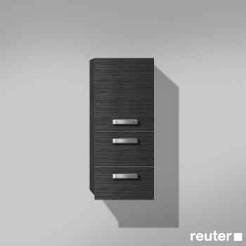 burg essento halbhoher schrank mit 1 t r und 2 ausz gen front hacienda schwarz korpus hacienda. Black Bedroom Furniture Sets. Home Design Ideas