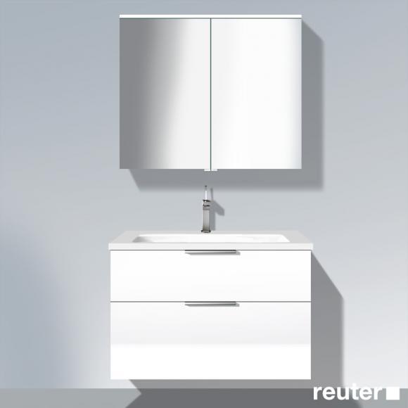 waschtischunterschrank hochglanz weiss preisvergleiche erfahrungsberichte und kauf bei nextag. Black Bedroom Furniture Sets. Home Design Ideas