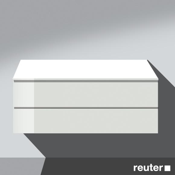 burg bel unterschrank mit 2 ausz gen front wei. Black Bedroom Furniture Sets. Home Design Ideas