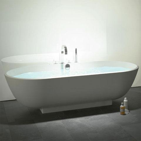 burg crono 2 0 ovale mineralguss badewanne wei. Black Bedroom Furniture Sets. Home Design Ideas