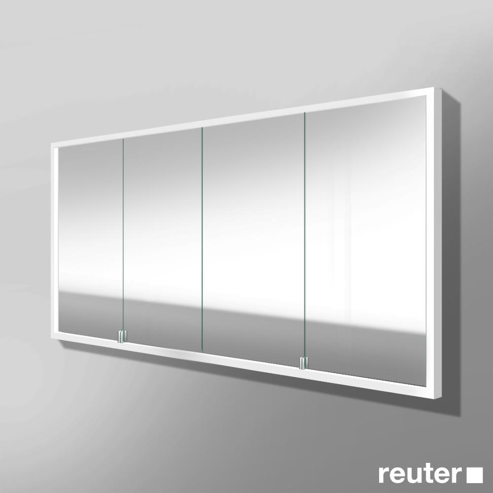 burg crono led spiegelschrank f r wandeinbau mit 4 t ren spft160 reuter onlineshop. Black Bedroom Furniture Sets. Home Design Ideas