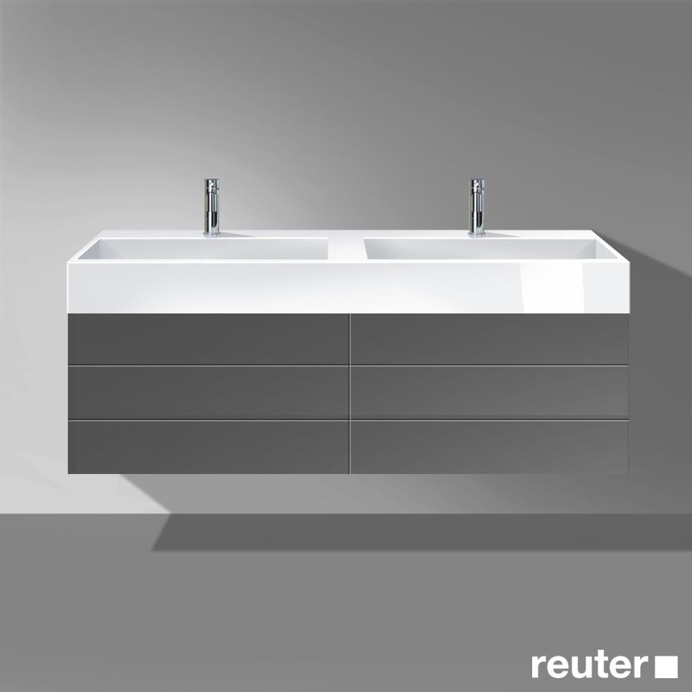 burg crono mineralguss doppelwaschtisch mwdw161c0001 reuter onlineshop. Black Bedroom Furniture Sets. Home Design Ideas