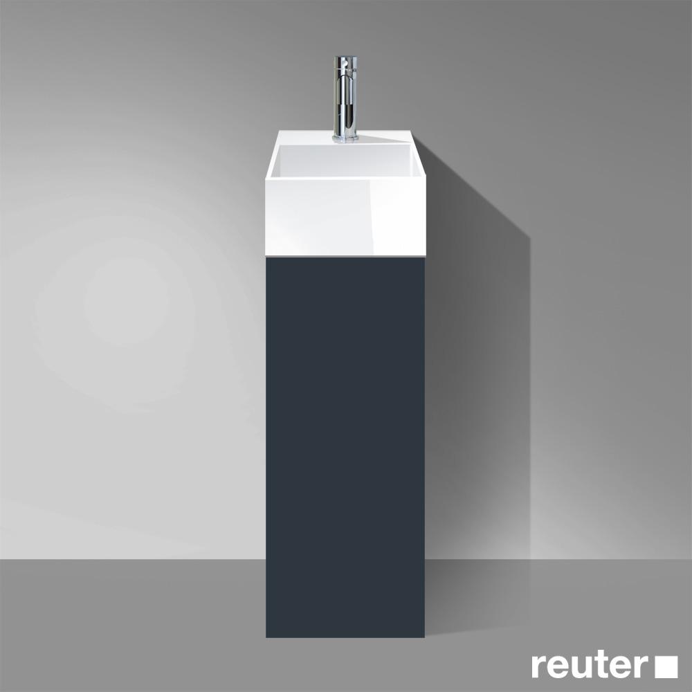 burg crono waschtischunterschrank 1 t r anschlag links wt wei front anthrazit matt korpus. Black Bedroom Furniture Sets. Home Design Ideas