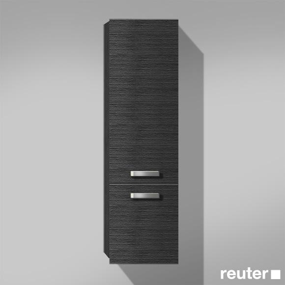 burg essento hochschrank mit 2 t ren front hacienda schwarz korpus hacienda schwarz. Black Bedroom Furniture Sets. Home Design Ideas