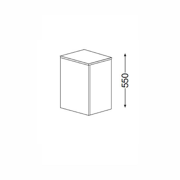 burg pli unterschrank mit 1 t r front bambus natur korpus bambus natur usac040rf0139. Black Bedroom Furniture Sets. Home Design Ideas