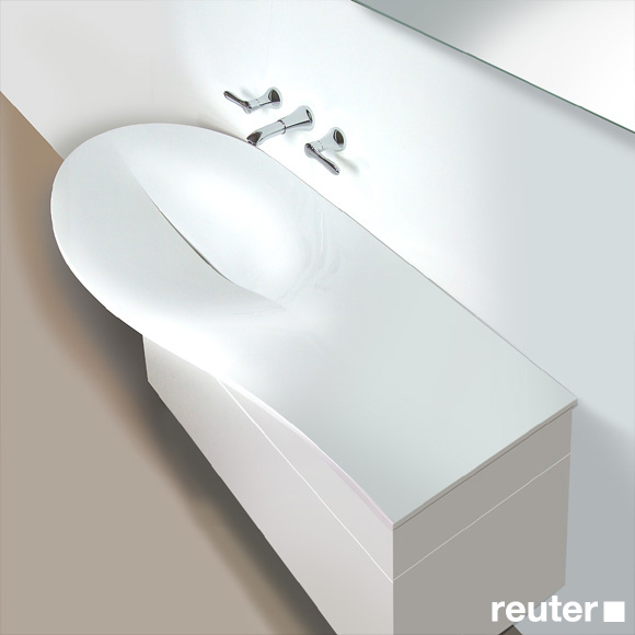 burg pli waschtisch amorph wei mwba120lc0001 reuter. Black Bedroom Furniture Sets. Home Design Ideas