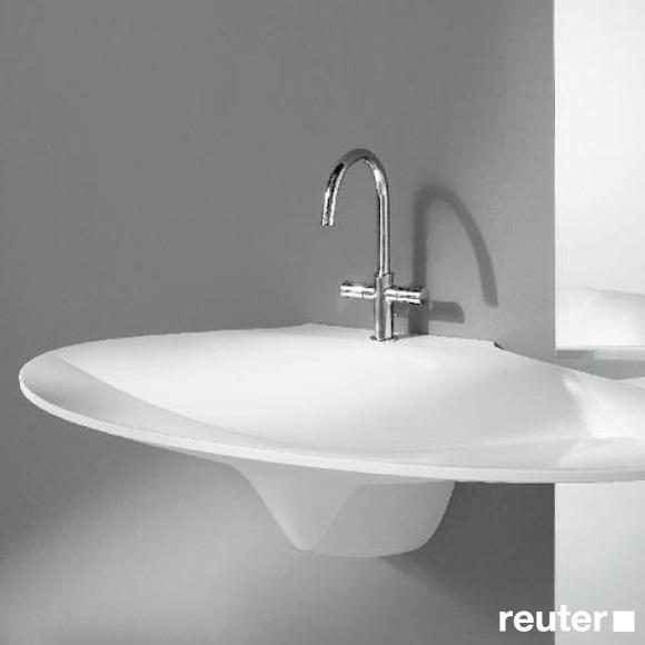 burg pli waschtisch skulptur wei seai120lc0001 reuter onlineshop. Black Bedroom Furniture Sets. Home Design Ideas