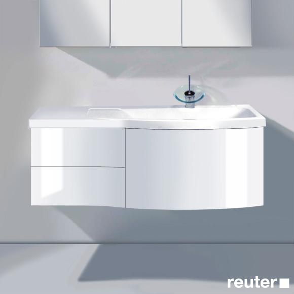 burg sinea waschtischunterschrank mit waschtisch 1 auszug. Black Bedroom Furniture Sets. Home Design Ideas
