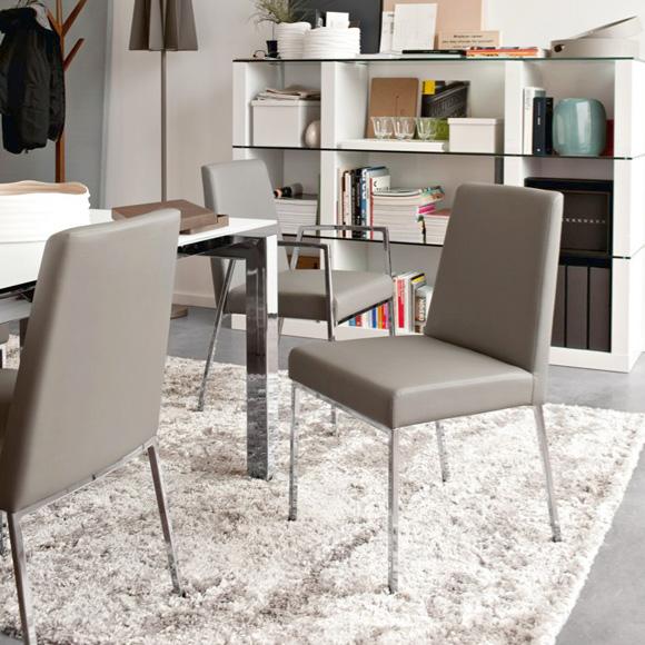 calligaris amsterdam stuhl echtleder cs 1286 lh p77 d04 reuter onlineshop. Black Bedroom Furniture Sets. Home Design Ideas