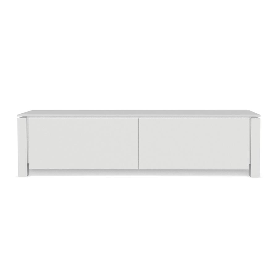 details zu lowboard h ngend wei hochglanz lack italien. Black Bedroom Furniture Sets. Home Design Ideas