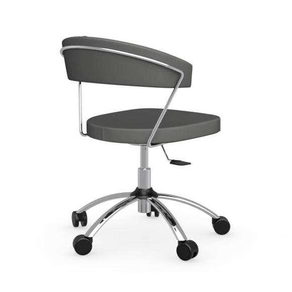 calligaris new york stuhl mit rollen cs 624 gu p77 aja reuter onlineshop. Black Bedroom Furniture Sets. Home Design Ideas