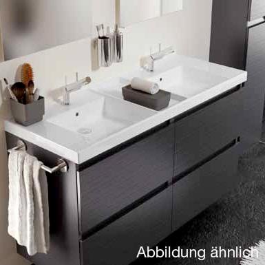 cosmic b box doppel waschtisch mit unterschrank mit 4 schubladen b 120 h 69 t 45 cm wei matt. Black Bedroom Furniture Sets. Home Design Ideas