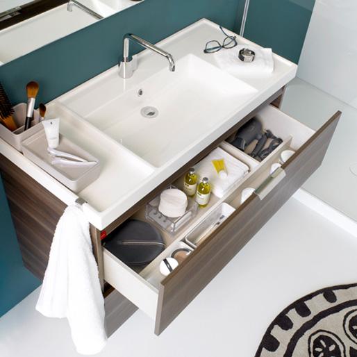cosmic b box waschbecken mit unterschrank mit 2 schubladen esche b05011001159 reuter onlineshop. Black Bedroom Furniture Sets. Home Design Ideas